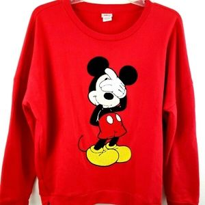 Disney Mickey Mouse Crewneck Sweatshirt XL